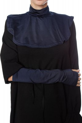 Derin - Navy Blue Neckcover & Arm Sleeves