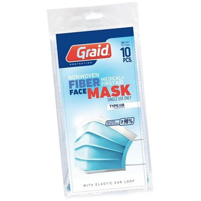 Face Mask CE-marked IIR 10-pack - Graid