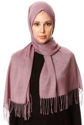 Selin - Light Purple Pashmina Hijab - Özsoy