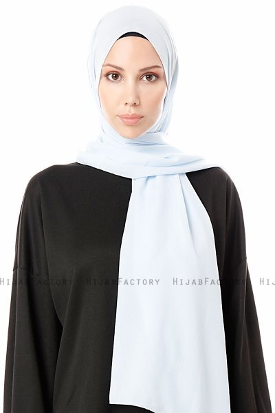 Ayla - Light Blue Chiffon Hijab
