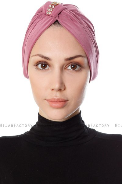 Bahar - Dark Pink Turban