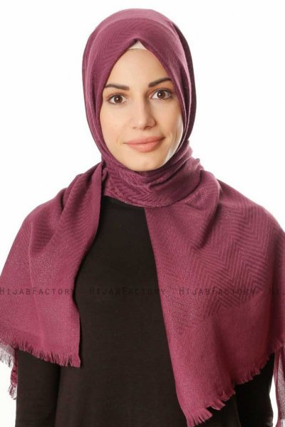 Caria - Purple Hijab - Madame Polo