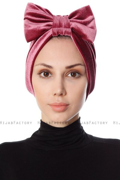 Ekin - Dark Pink Turban