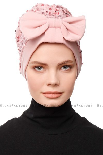 Enfleda - Dusty Pink Turban