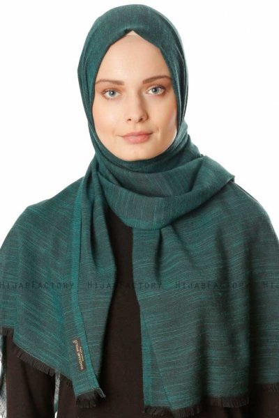 Esana - Dark Green Hijab - Madame Polo