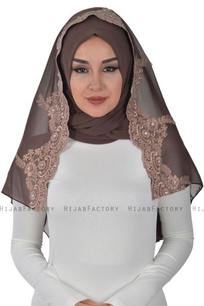 Helena - Brown Practical Hijab - Ayse Turban