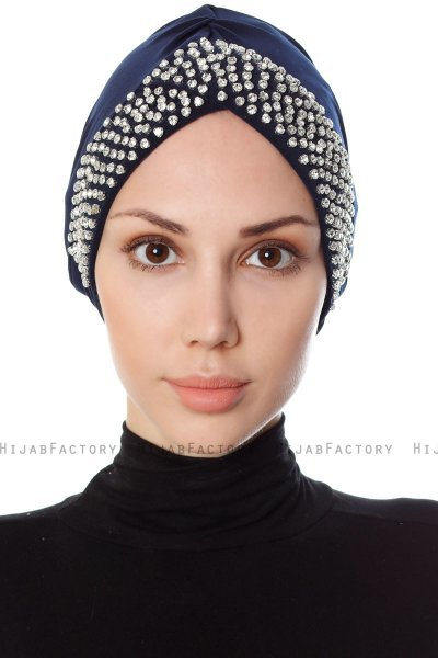 Irmak - Navy Blue Turban