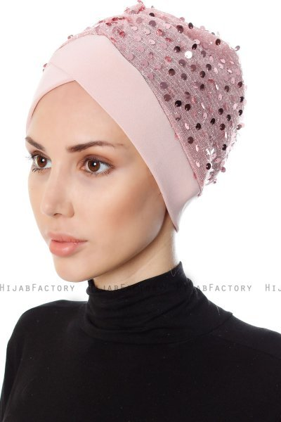 Nurten - Dusty Pink Turban