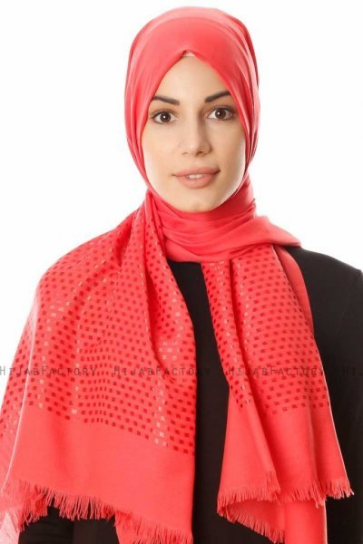 Reyhan - Raspberry Red Hijab - Özsoy