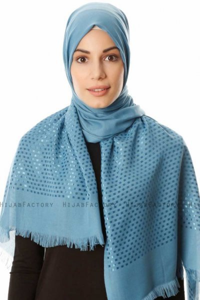Reyhan - Light Blue Hijab - Özsoy