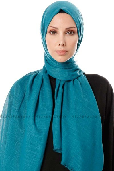 Selma - Green Plain Color Hijab - Gülsoy