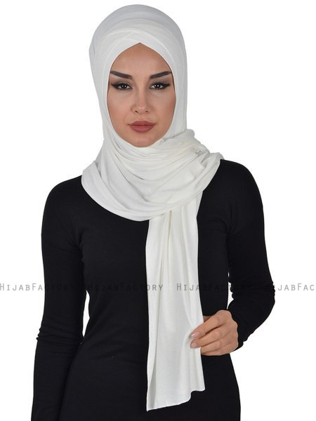 Sofia - Creme Practical Cotton Hijab